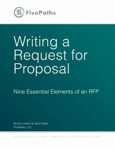 Simple Request for Proposal Example New Writing A Request for Proposal