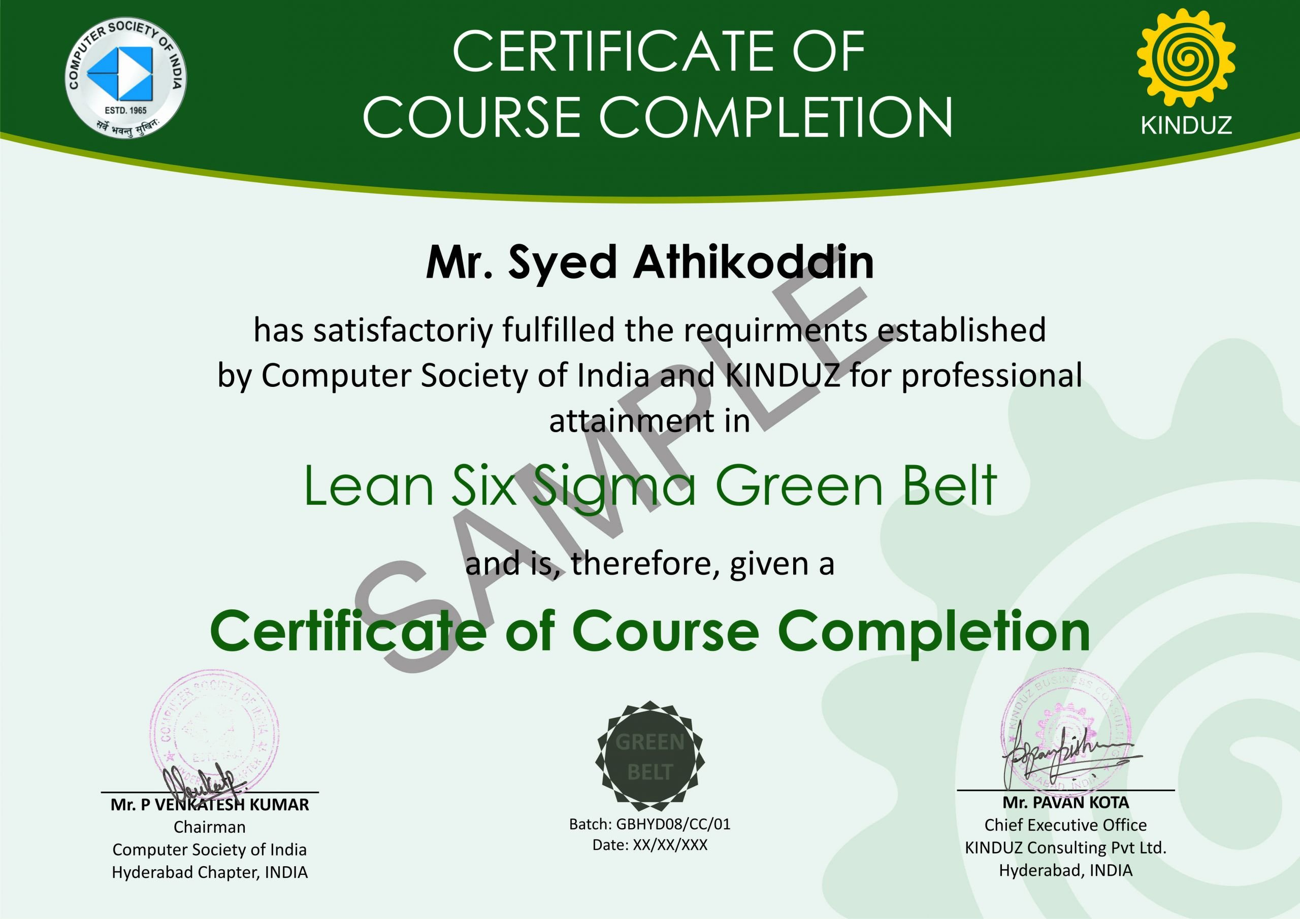 Six Sigma Green Belt Certificate Template Awesome Index Of Cdn 7 1999 364