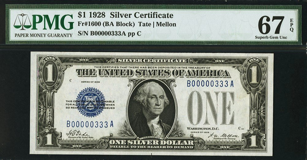 Size Of Certificate Paper Fresh Small Size Silver Certificates and Experimental Notes