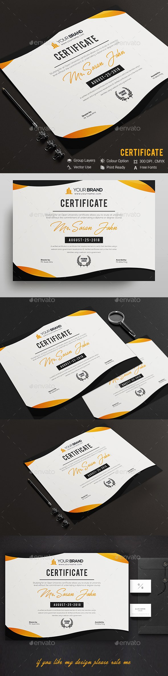 Size Of Certificate Paper Lovely Certificate Certificate Template Fully Clean Certificate