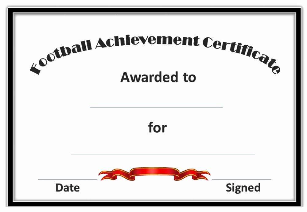 Soccer Awards Certificates Templates Best Of soccer Award Certificates