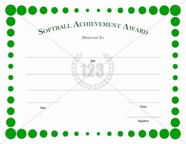 Softball Award Certificate Template New Free Download Beautiful softball Certificate Templates for