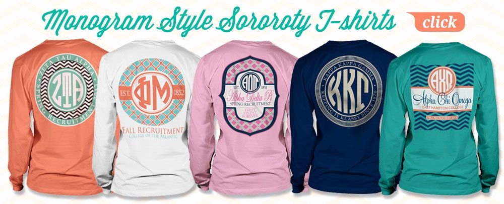 Sorority formal Awards Ideas New sorority T Shirts Bid Day and Recruitment