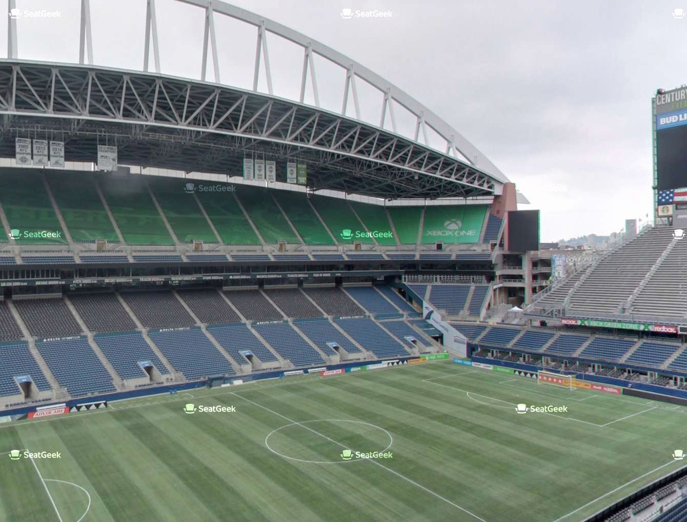 Sounders Seating Chart Awesome Centurylink Field Lower 313 Seat Views