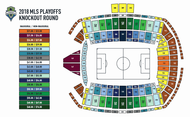 Sounders Seating Chart Best Of Seattle sounders Seat Map