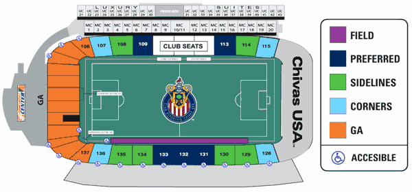 Sounders Seating Chart Lovely Seattle sounders Seat Map