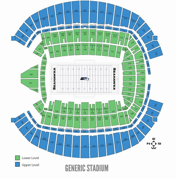 Sounders Seating Chart Luxury Centurylink Seating Chart sounders