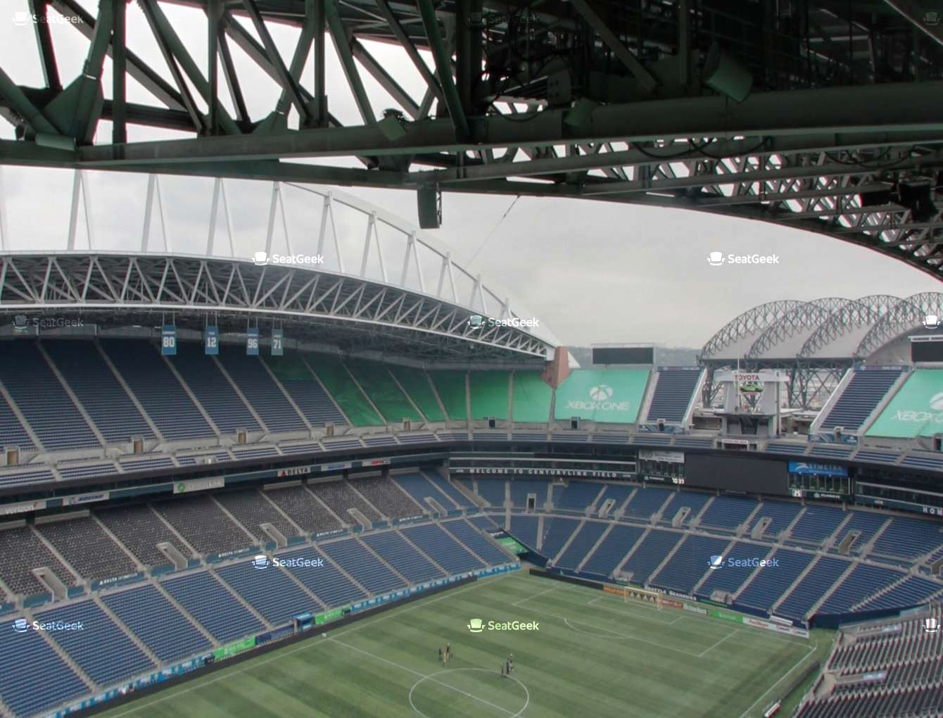 Sounders Seating Chart Unique Centurylink Field Upper 343 Seat Views