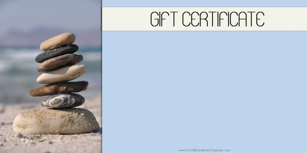 Spa Day Gift Certificate Template Fresh Spa Gift Certificates 101 Gift Certificate Templates