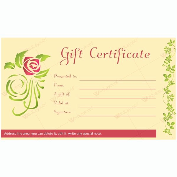 Spa Gift Certificate Template Word Awesome 12 Best Spa and Saloon Gift Certificate Templates Images
