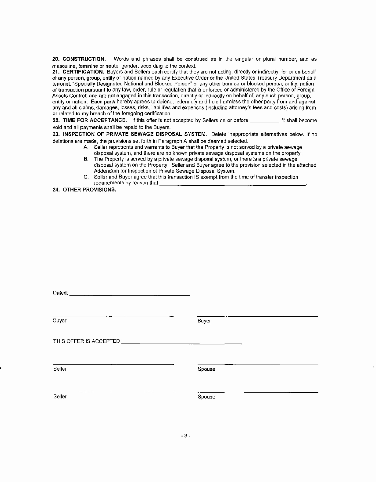Spay and Neuter Contract Template Awesome Download Iowa Resdential Purchase Agreement & Fer to Buy