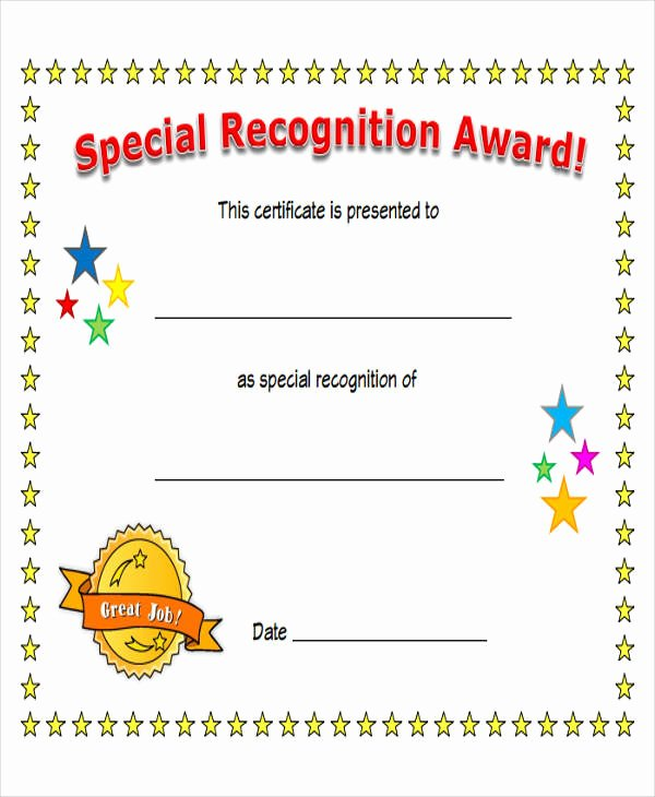Special Award for Students Awesome 43 Printable Award Certificates Word Psd Ai Eps Vector