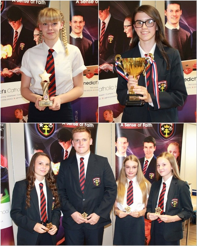 Special Award for Students Beautiful Talented St Benedict S Students Honoured at Special Awards