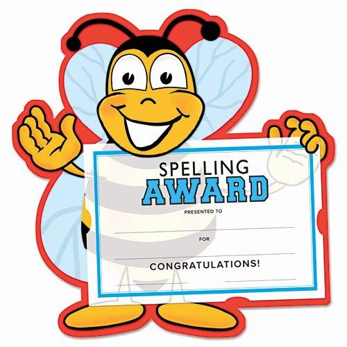Spelling Bee Certificate Template Elegant southworth Motivations Spelling Bee Certificate Award Kit