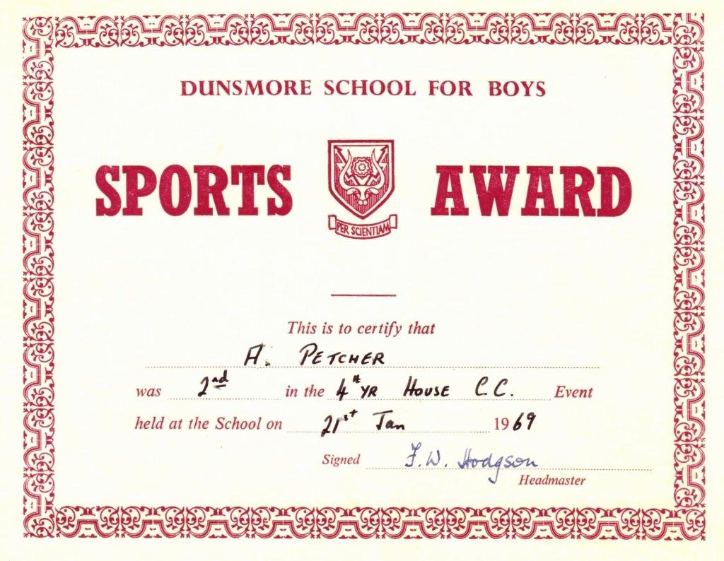 Sports Awards Certificate Template Elegant Award Certificates for Sports