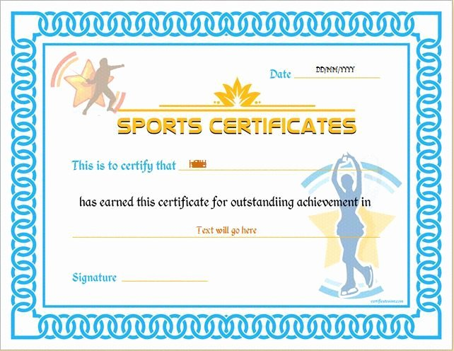 Sports Awards Certificate Template Lovely 133 Best Certificates Images On Pinterest