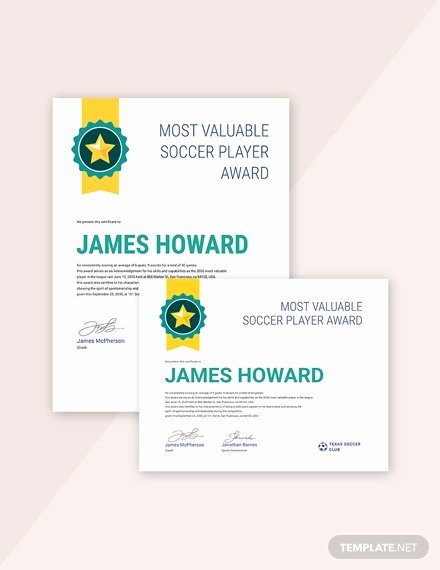 Sports Certificate format In Word Inspirational Sports Certificate Template 25 Word Psd Ai Indesign