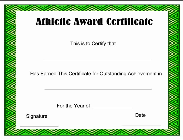 Sports Certificate Templates for Word New Free Birth Certificate Template for Word Freemixjk