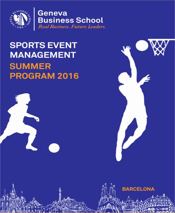 Sports Program Template Microsoft Word Best Of 20 event Program Samples & Templates Pdf Doc