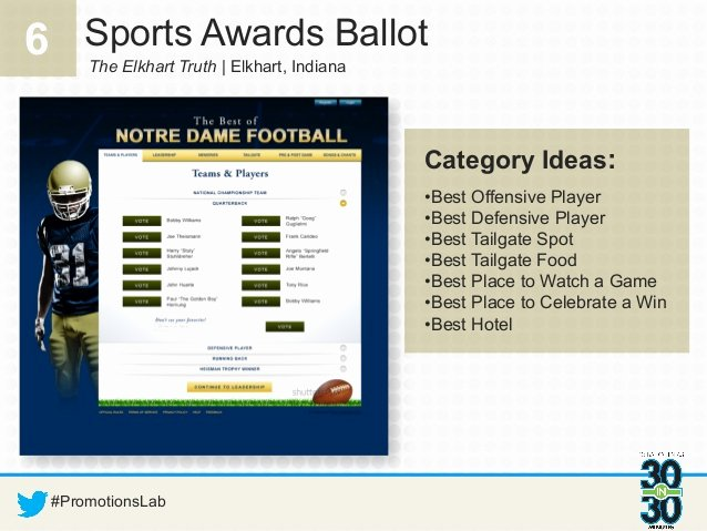 Sports Team Award Ideas Best Of 30 Ballot Ideas In 30 Minutes