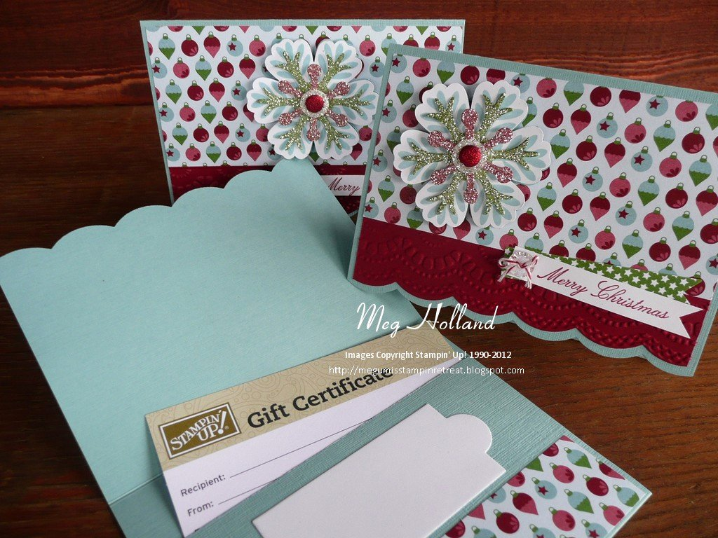 stampin up t certificates