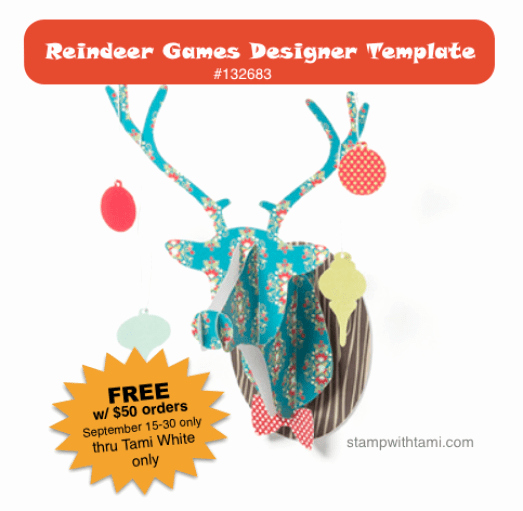 "Stampin Up Gift Certificate Template Lovely Free ""reindeer Games Template"" Download W Qualifying"