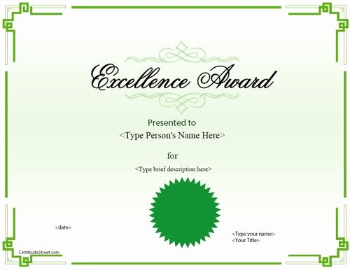 Star Registry Certificate Template Best Of 9 Best Awards Certificate Templates Images On Pinterest