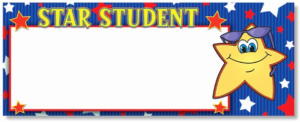 Star Student Award Printable Elegant north Star Teacher Resources Star Student Message Board