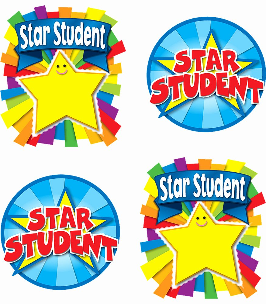 Star Student Award Printable Lovely Best Star Student Clipart Clipartion