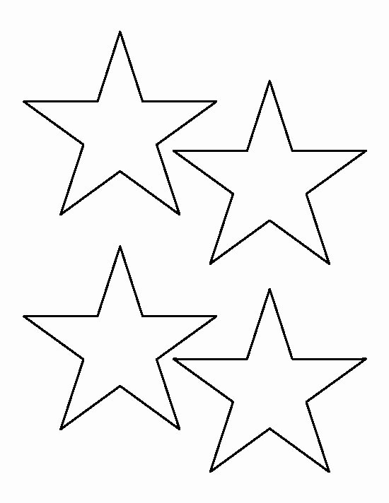 Star Template Printable Free Awesome Best 25 Star Template Ideas On Pinterest