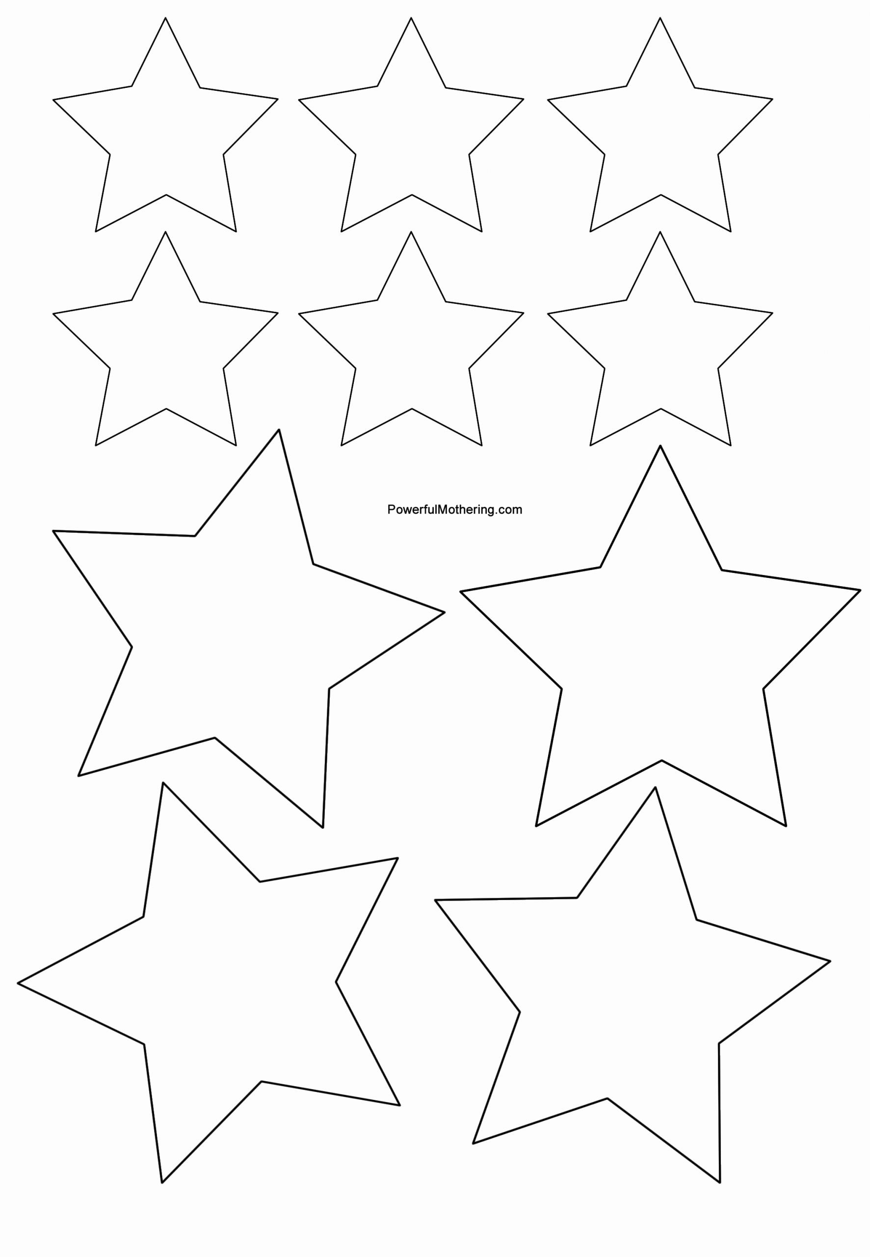 Star Template Printable Free Best Of Gingerbread Men Christmas Tree and Star Printables