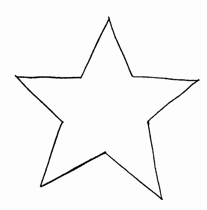 Star Template Printable Free New Free Star Template Download Free Clip Art Free