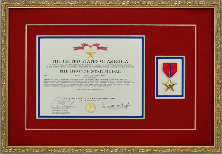 Star Wars Certificate Template New Gallery Custom Framed Military Medals and Ribbons