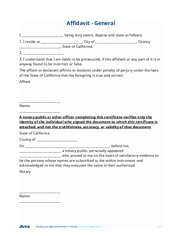 Statement Of Facts Sample Letter Beautiful How to Write A Legal Affidavit Best Opinion