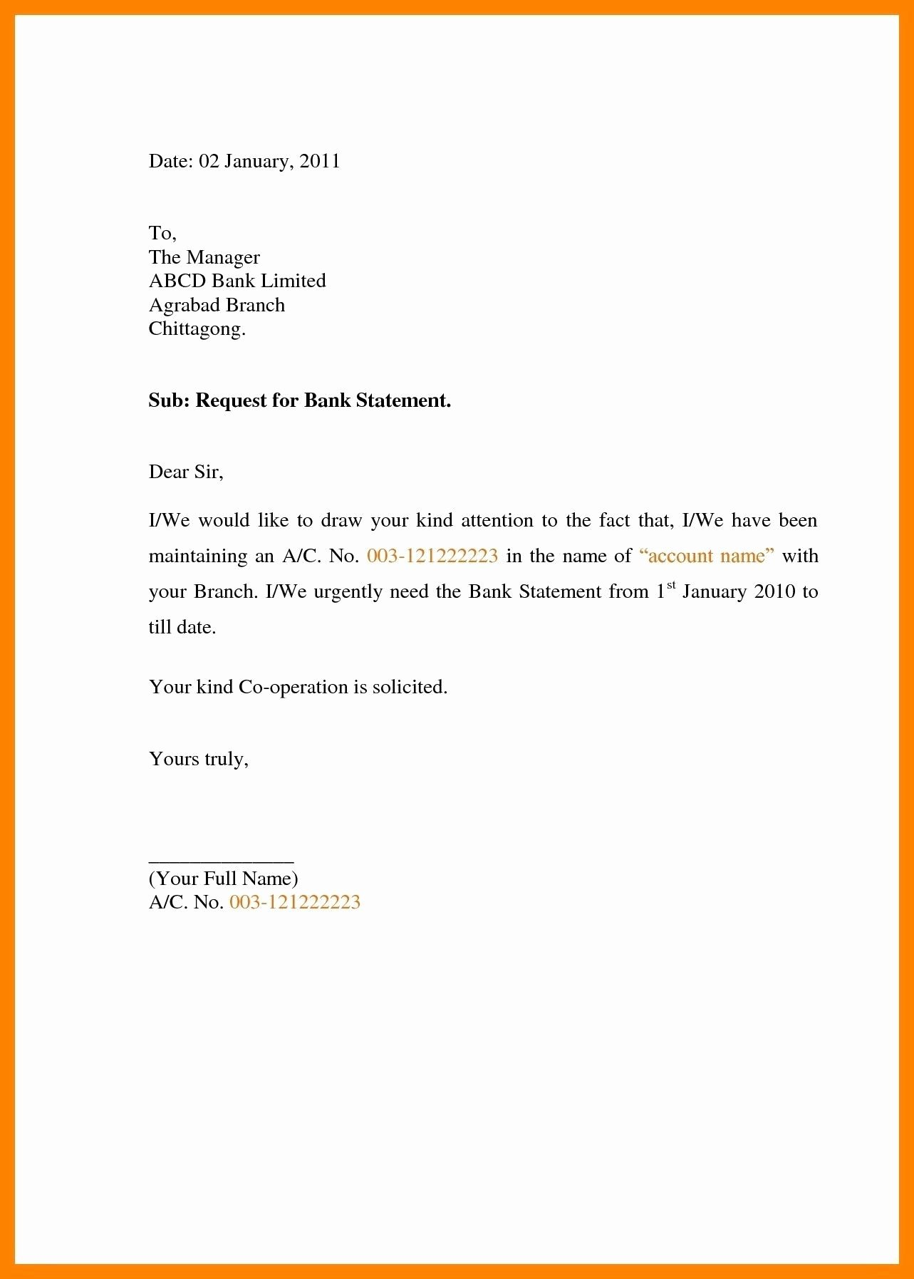 Statement Of Facts Sample Letter Lovely Request Letter format for Bank Bank Guarantee