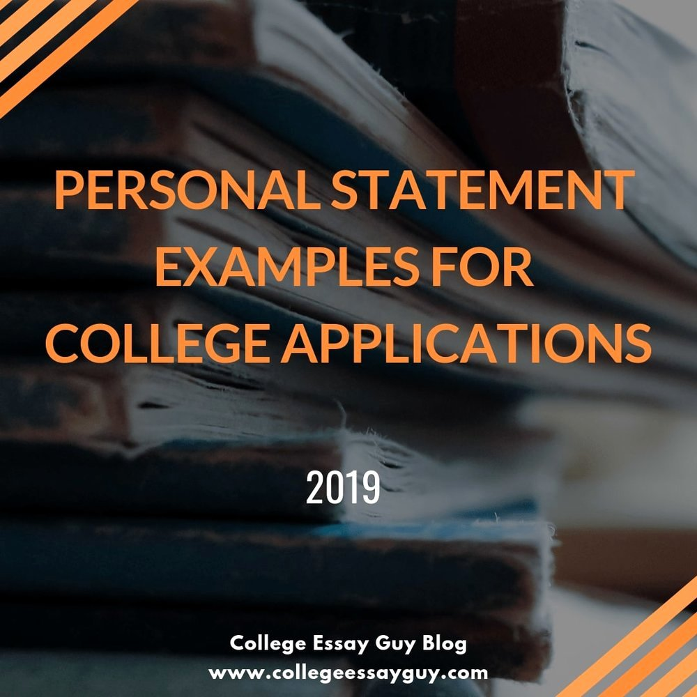 Statement Of Personal History Lovely College Admissions Blog