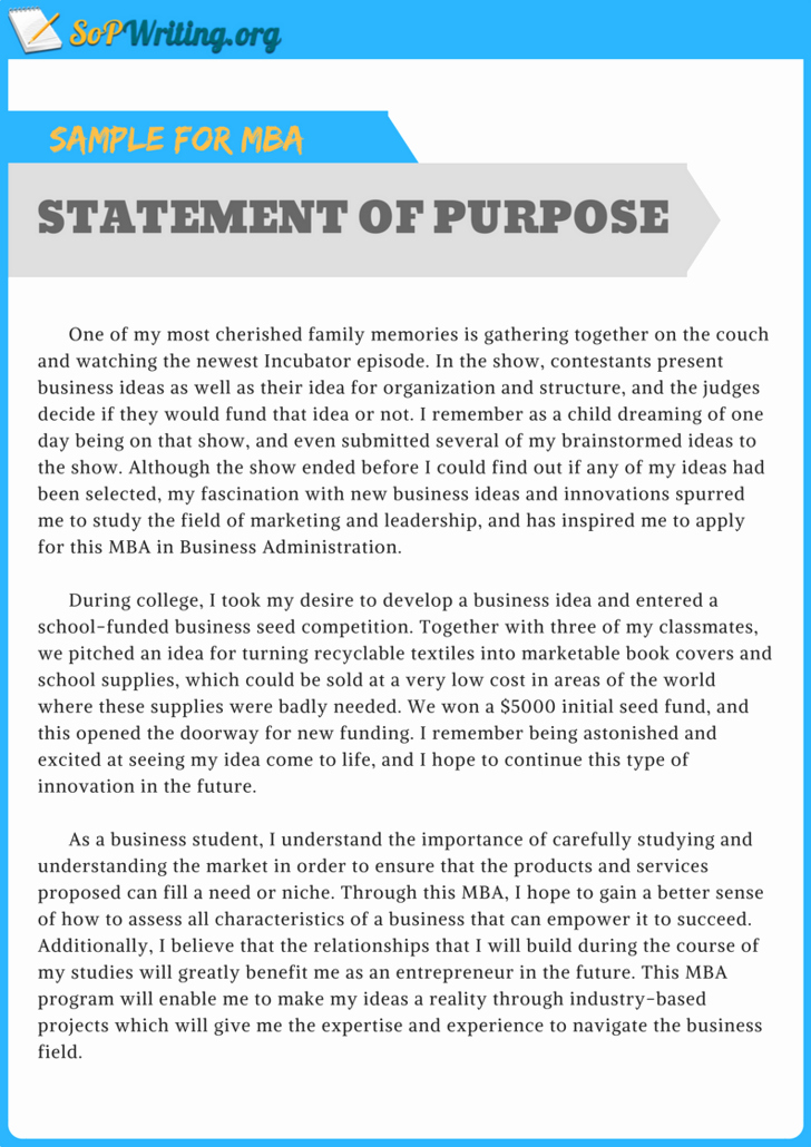 Statement Of Purpose Sample Computer Science Beautiful Pin by sop Samples On Statement Of Purpose Sample for Mba