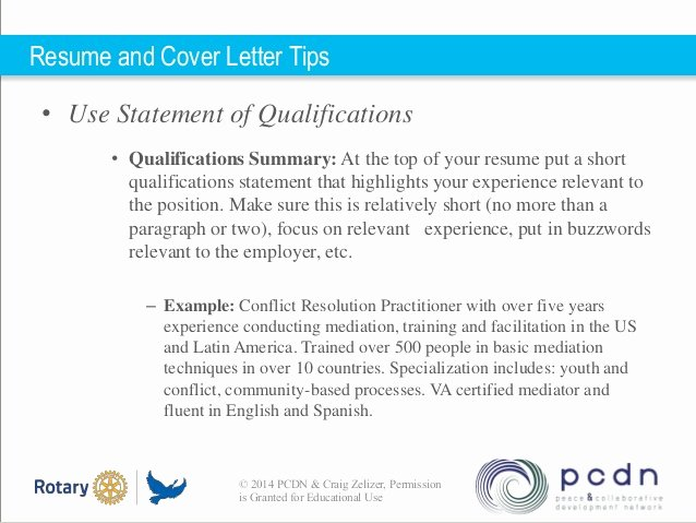 Statement Of Qualifications Example Letter Fresh Statement Of Qualifications Example Letter