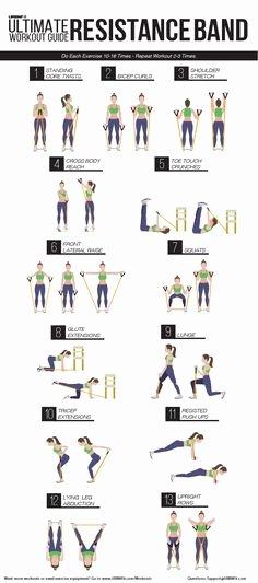 Stretching Charts Free Printable Fresh Printable Resistance Band Chart