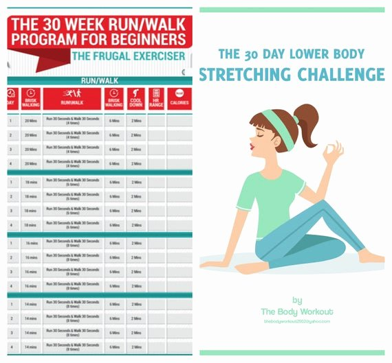 Stretching Charts Free Printable Lovely Running Printable