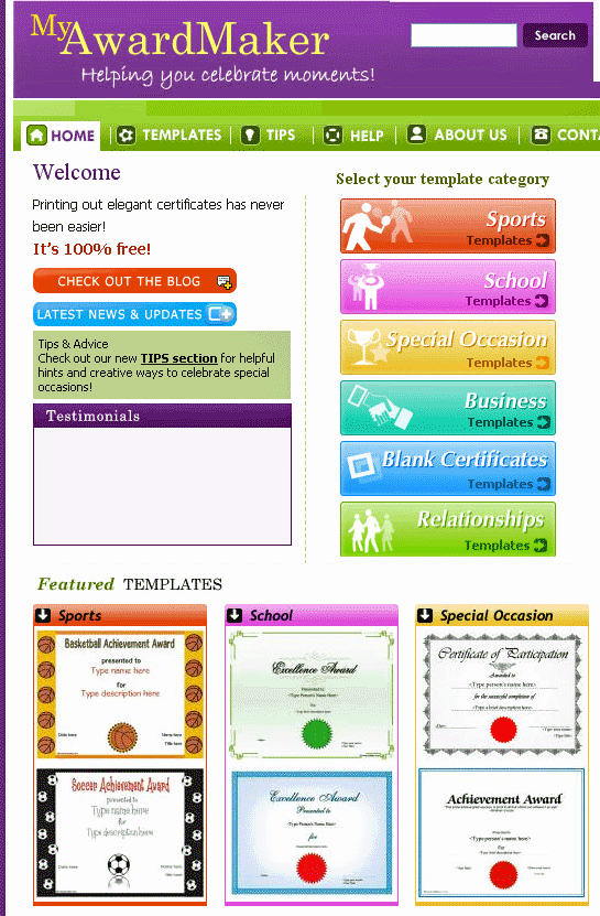 Student Certificate Template Google Docs Beautiful Myawardmaker Free Custom Certificate Templates