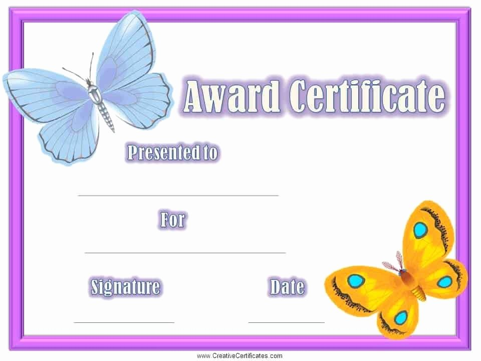 Student Certificate Template Google Docs Best Of Certificates for Kids Free and Customizable Instant