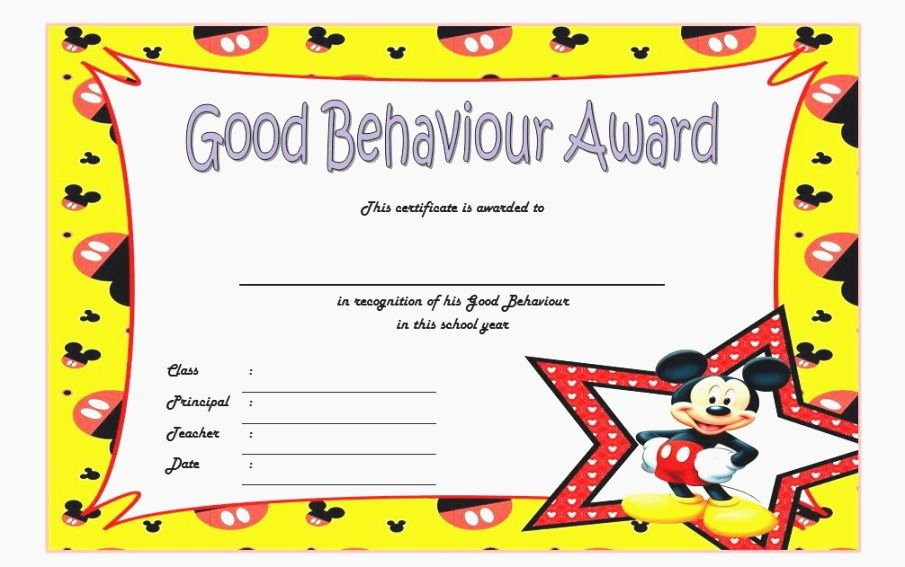 Student Certificate Template Google Docs Lovely top Monster Printable Awards for Students
