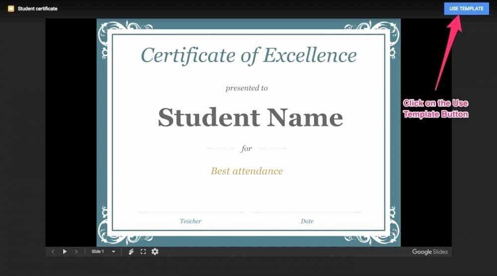 Student Certificate Template Google Docs Luxury How to Make Certificates Of Pletion for Teachable