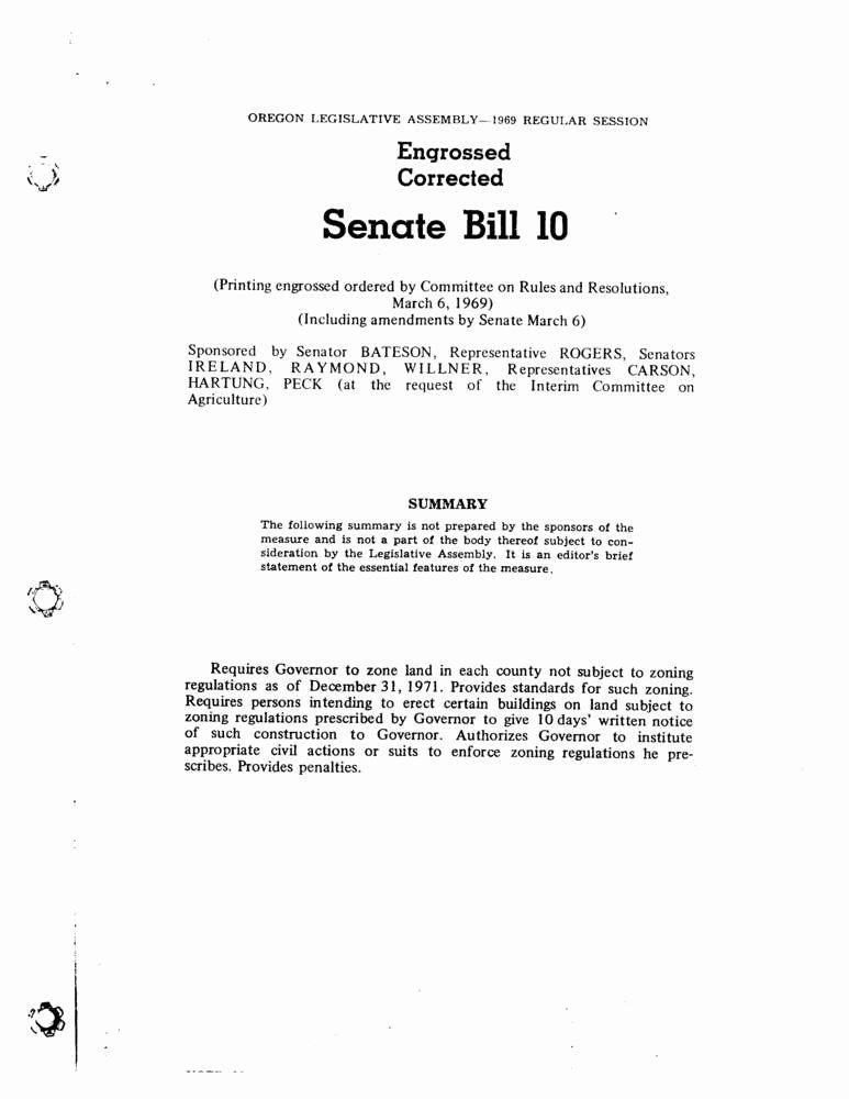Student Congress Bill Template New Senate Bill 100