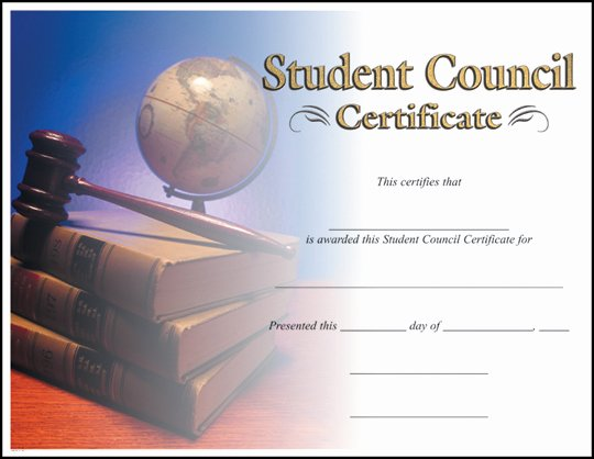 Student Council Awards Certificates Fresh Rising Stars Line Catalog Certificates