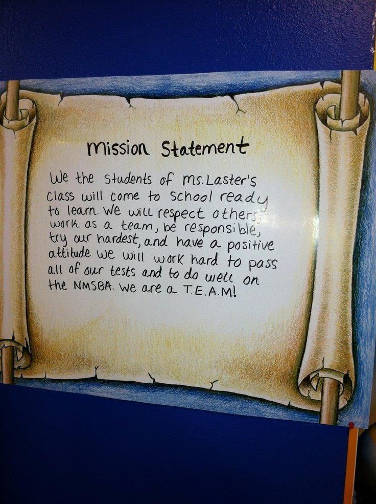 Student Mission Statement Examples Elegant 24 Best Images About Seven Habits Class Mission Statement