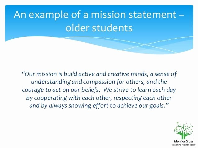 Student Mission Statement Examples New 25 Best Ideas About Classroom Mission Statement On