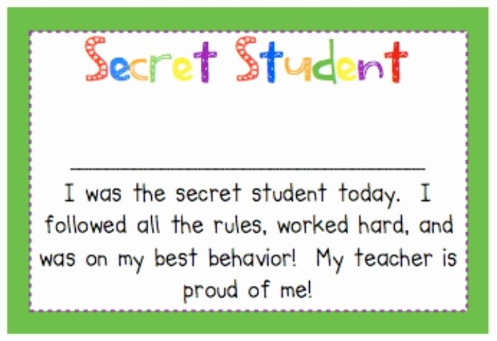 Student Of the Day Certificate Inspirational 1000 Images About Classroom On Pinterest