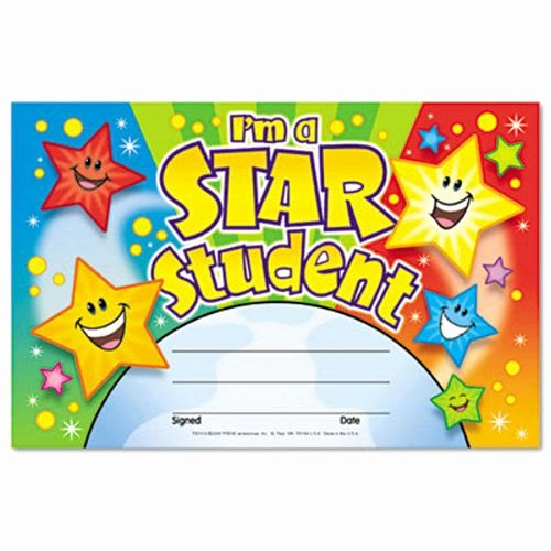 Student Of the Month Certificate Pdf Awesome Trend Recognition Awards I M A Star Student 8 1 2w by 5